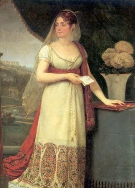 Tableau d'époque de Joséphine de Beauharnais, l'aristocratie et la bourgeoisie