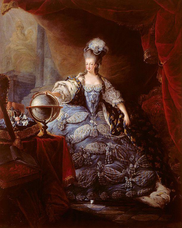 Tableau d'époque de Marie-Antoinette et la révolution française