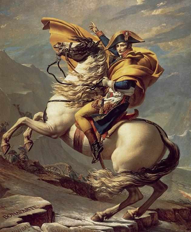 Tableau d'époque de Napoléon et l'Empire