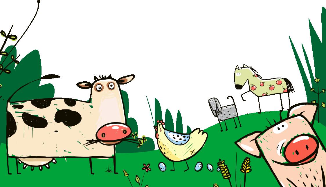lecture CE1 CE2 - La ferme des animaux