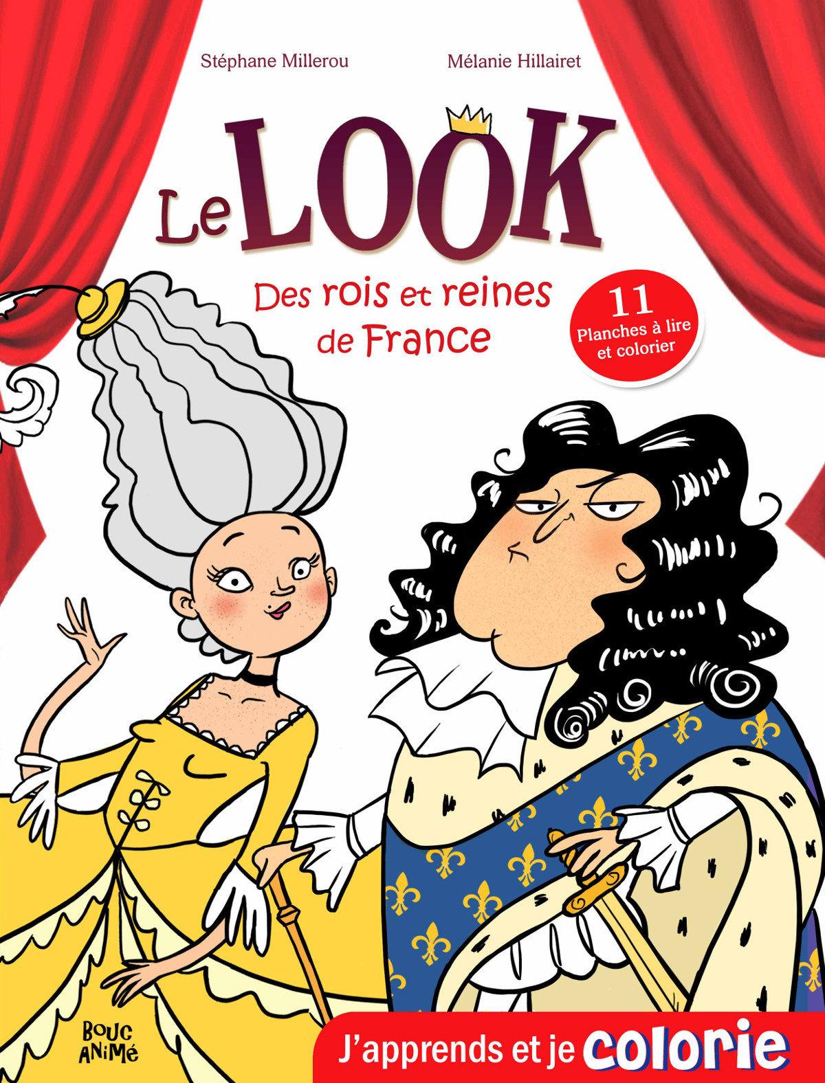 Histoire CM1 CM2 - Le Look des Rois et Reines de France