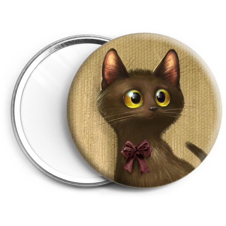 - Miroir Chat noir