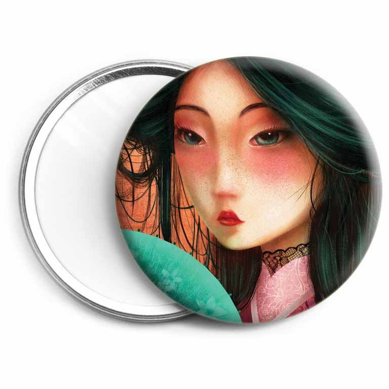 Miroir Geisha