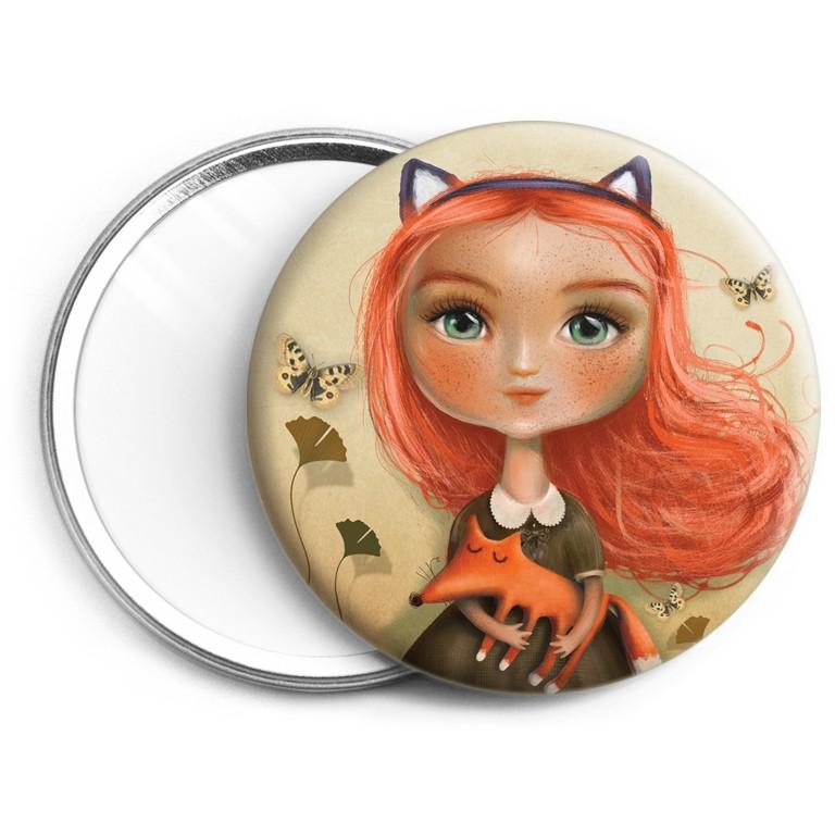 Miroir Petite renarde