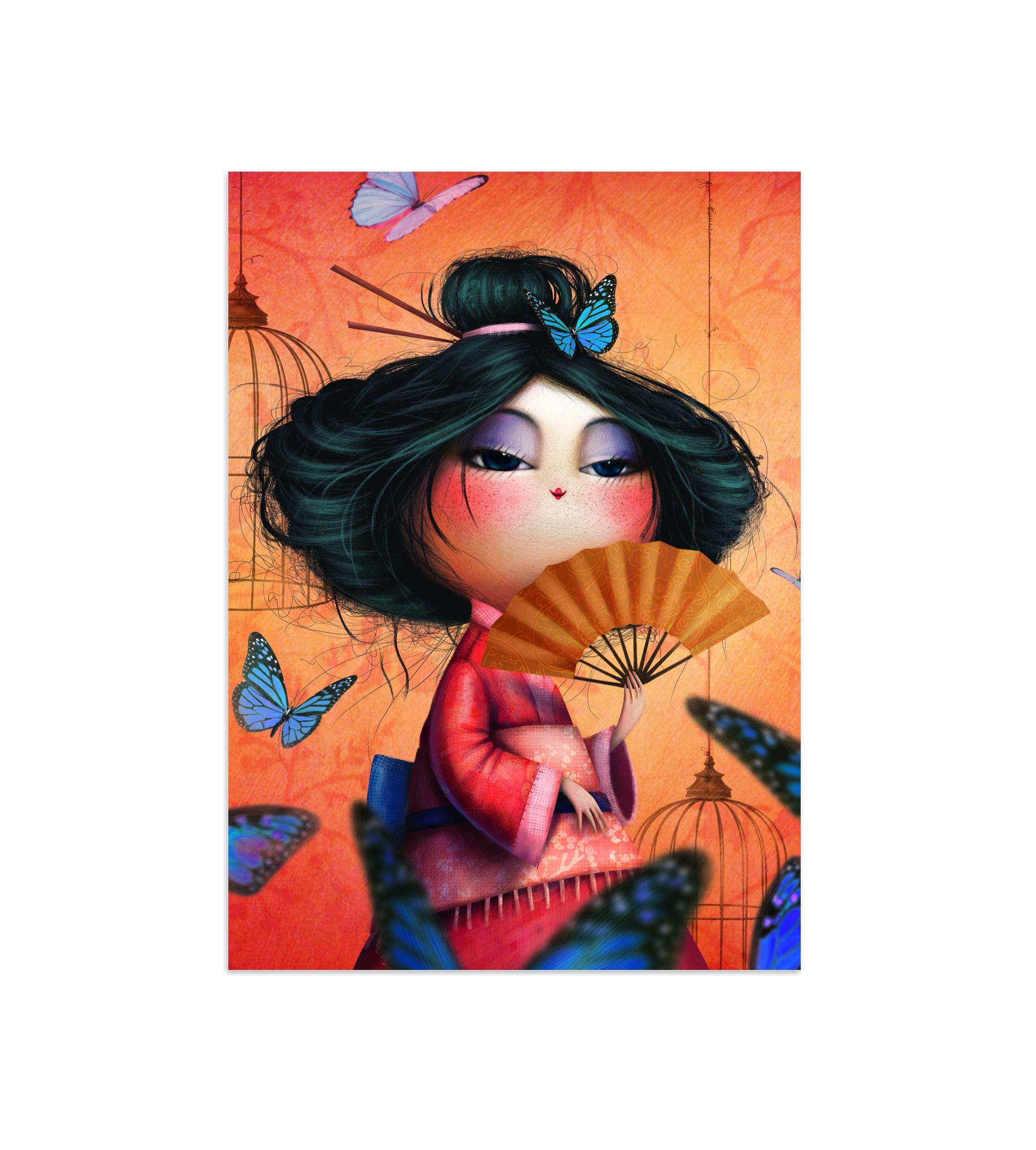 Notebouc Mam'zelle Papillon