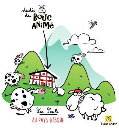 Bouc Animé au Pays Basque